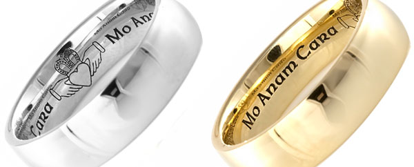 """The images above illustrate our Claddagh """"Mo Anam Cara"""" Design. This ..."""